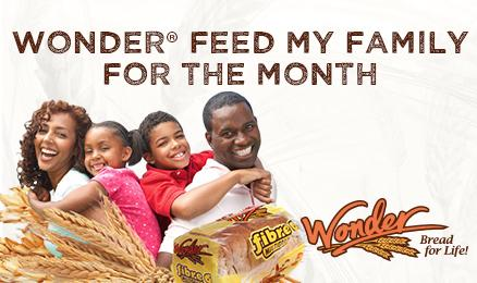Wonder® Feed my family for the month